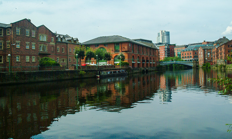 View of River Aire from the Aire Bar